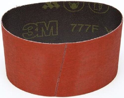 "10 Each 3M 777F 3""x18"" 80 Grit YF-Wt Exotic Metal Belt 65804"