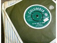 """1960,s vinyl singles 7"""" 7 inch bundle of records perfect for jukebox X 100"""