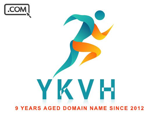YKVH.com - 4 Letter Domain Name .com - LLLL - 9 Years Old - Reg 2012 - $123.75