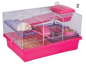 Rosewood PICO Hamster Home Cage Complete Kit Hot Pink