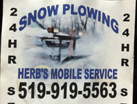 Snowplowing and Salting Service