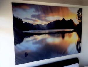 IKEA large canvas wall art painting - BJÖRKSTA - 70% off SALE!