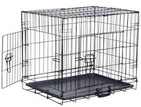 Dual Door Dog Crate large