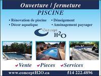 Détection fuite teste de pression pour piscine soudure de toile