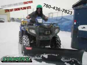 Crazy Coop Snowplow Sale, save big at Cooper's Motorsports!