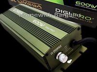 600W Lumii & Omega Dimmable Digital Ballast