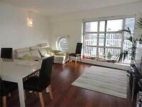 2 DOUBLE BEDROOM FLAT WITH DIRECT RIVER VIEWS, MINS AWAY FROM CANARY WHARF STATION- CASCADES TOWER