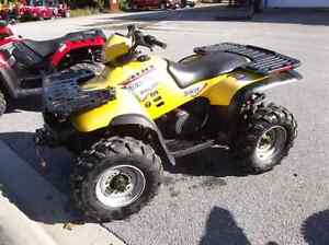 2004 polaris sportsman with plow