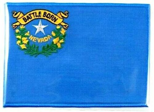 NEVADA ~  Willabee & Ward STATE FLAG PATCH United States Collection ~ PATCH ONLY