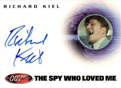 James Bond, 2002 40th Anniversary Autograph Card, A10 Richard Kiel as 'Jaws'