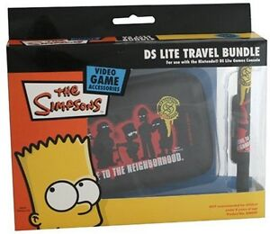BART  SIMPSON DS LITE TRAVEL BUNDLE    DS  NEW
