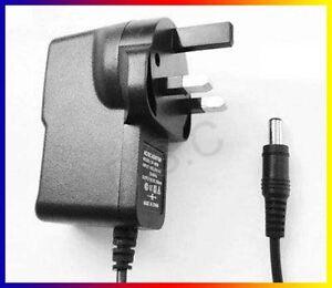 UK-For-Sony-DVP-FX870-DVPFX870-Portable-DVD-Player-9V-Power-Supply-Adapter