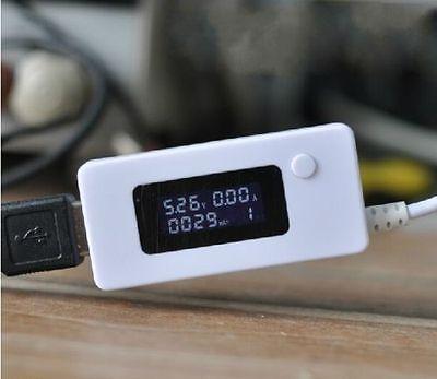 Usb Voltage Ampere Panel Meter Volt Tester Current Monitor Mobile Power Supply
