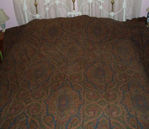 Ralph Lauren Paisley Bedding Ebay