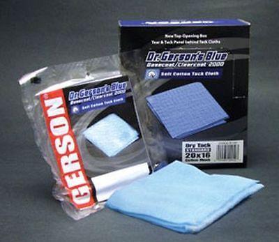 Gerson 20001B Tack Cloth, blue cotton, economy 20 x 12 mesh - 12/Box