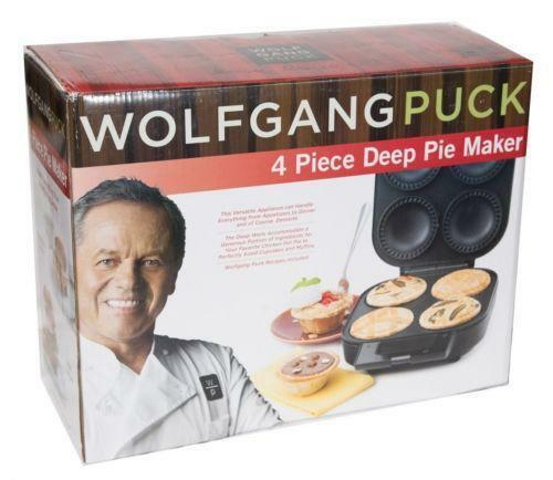Electric pie maker ebay for Wolfgang puck pie maker