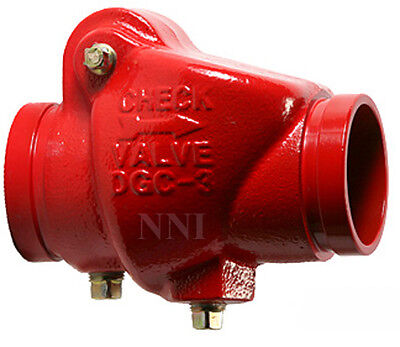 3 Check Valve Groove X Groove 300psi Ulfm - Fire Protection