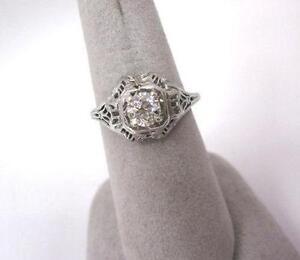 Antique Filigree Ring Ebay