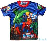 Boys Marvel T Shirt