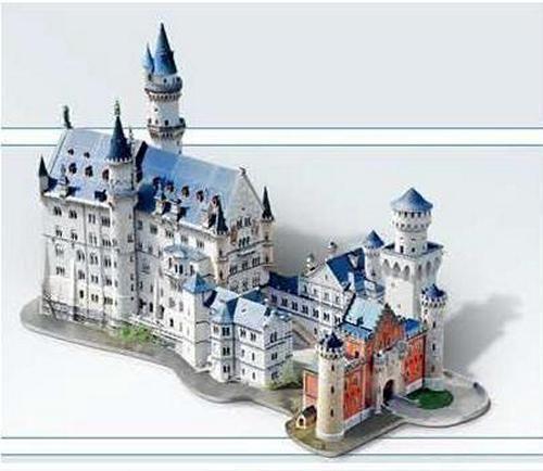 3d Puzzle Castle Ebay