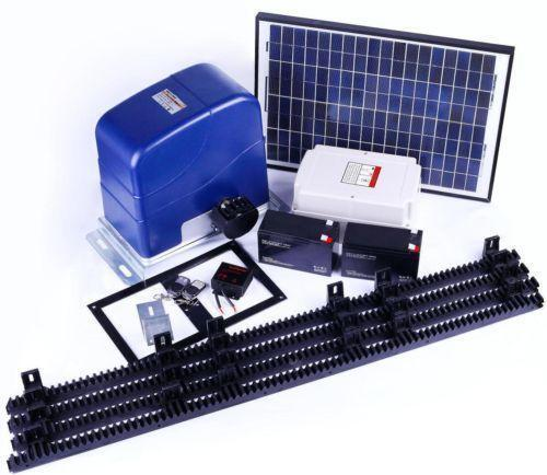 Solar Powered Electric Motor Kit: Solar Automatic Gate Opener