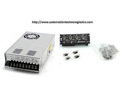 1pcs Gecko G540 Controller And 1 Pcs 48v7.3a Power Supplyship From Chicago