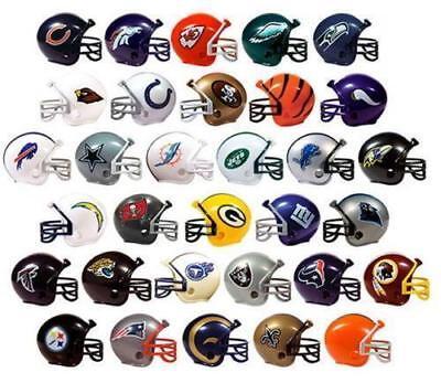 Kansas City Chiefs NFL MINI GUMBALL FOOTBALL HELMET-PENCIL TOPPERS