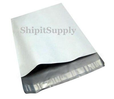 1-1000 6x9 White Poly Mailers Shipping Envelopes Bags Fast Shipping
