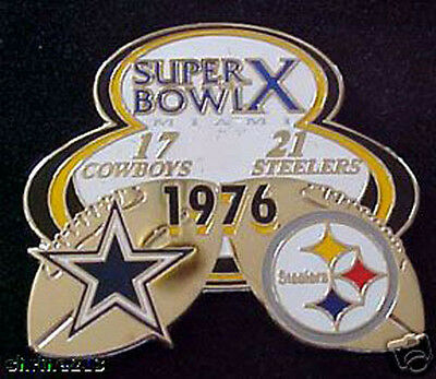Super Bowl 10 Final Score Pin Steelers Vs Cowboys Pdi