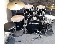 Sonor 505 5pc Drum Kit. Excellent Condition.