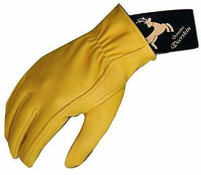 Mens Working SmartphoneTouch Screen Deerskin Leather Gloves Mens Deerskin Leather