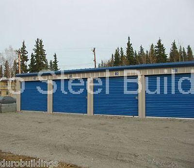 Duro Steel Mini Storage Kit 15x100x9.5 Metal Prefab Building Structures Direct
