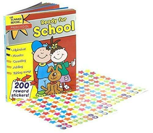 The Summer Before Preschool Ready for School Workbook with Reward Stickers New