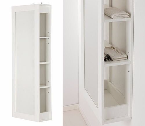 ikea brimnes storage unit with mirror amp shelves in
