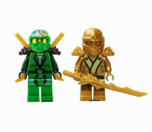 Lego ninjago gold ninja ebay - Ninjago lloyd gold ...