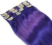 Purple Hair Extensions