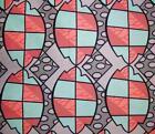 Coral Print Fabric