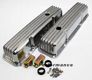 SBC Finned Aluminum Valve Covers