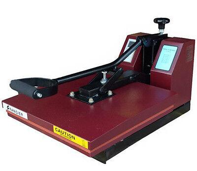 Industrial Quality Digital 15 x 15 Inch Heat Transfer T Shirt Press Mahcine 15RB