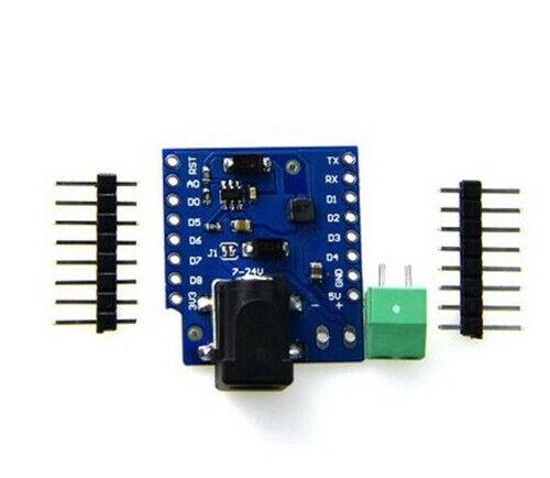1pc Dc Power Shield V1.1.0 For Wemos D1 Mini