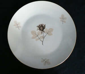 Rosenthal Shadow Rose Porcelain Dinnerware