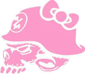 20-WATER-SLIDE-NAIL-ART-DECALS-TRANSFERS-PINK-METAL-MULISHA-SKULL