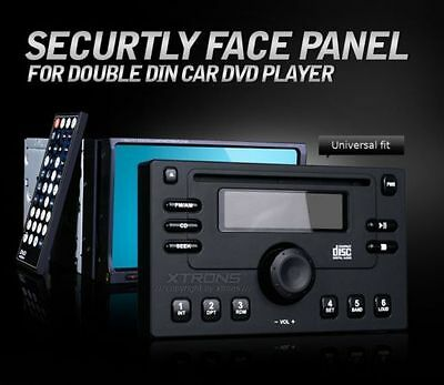 Dummy Security Stereo Face Panel for Double DIN 7'' Radio Screen Car DVD Player on Rummage