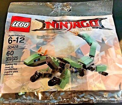Lego 30428 The Ninjago Movie   Green Ninja Mech Dragon 60Pcs  6  Free Shipping