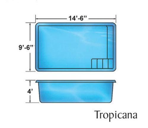 Fiberglass Pool Ebay