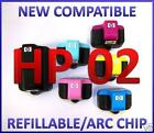 HP 02 Refillable Cartridges