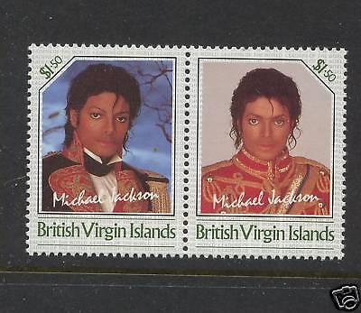 British Virgin Islands Michael Jackson stamp not issued