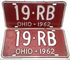 Antique Ohio License Plate