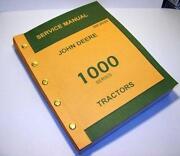 John Deere 1010 Manual