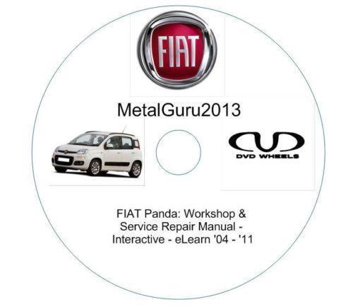 Fiat Panda Workshop Manual